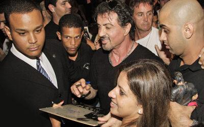 Sylvester Stallone faz gravações de seu filme no Rio de Janeiro